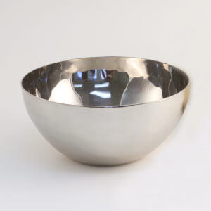 Hand Hammered Stainless Steel Bowls – Round