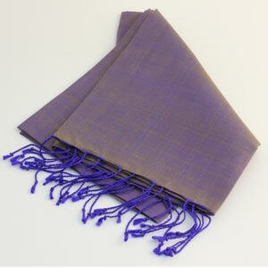 Handwoven Cambodian Silk Scarves