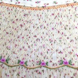 Floral Ecru Dress