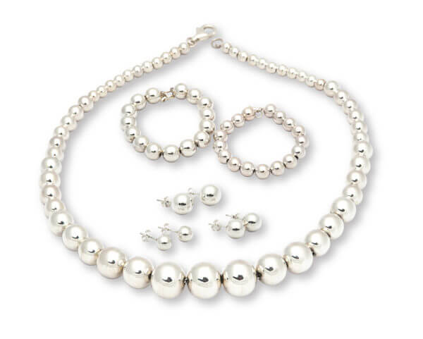 sterling silver beads jewelry 1020