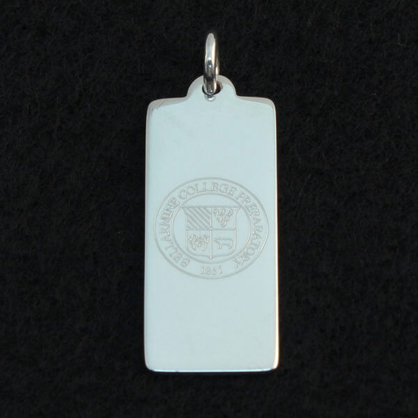 sterling silver dog tag
