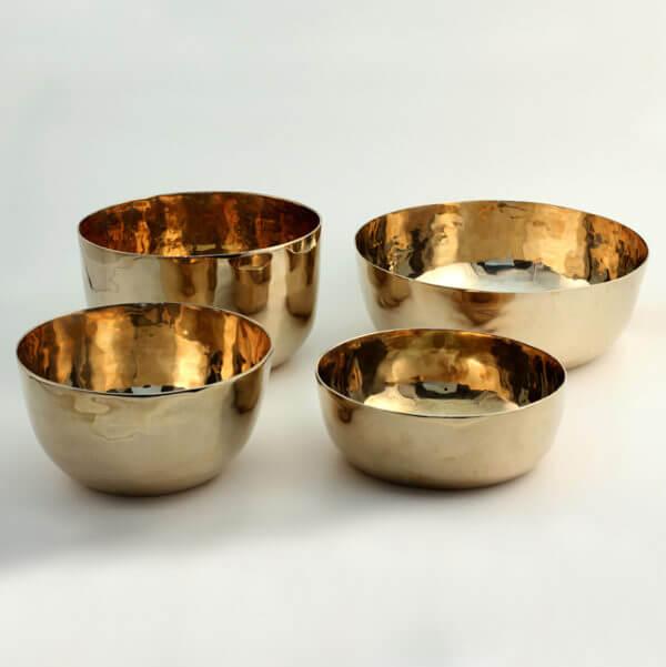 four bronze bowls WP