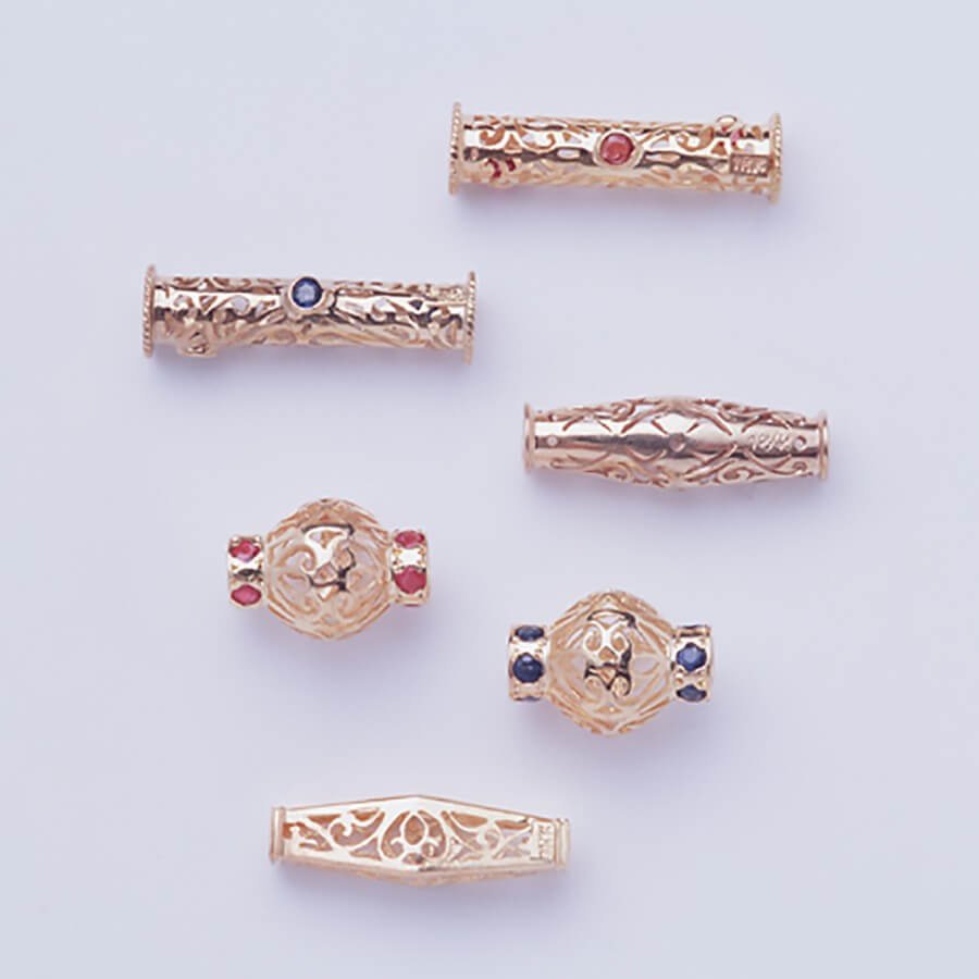 Gold Katah, - Cambodian Prayer Beads