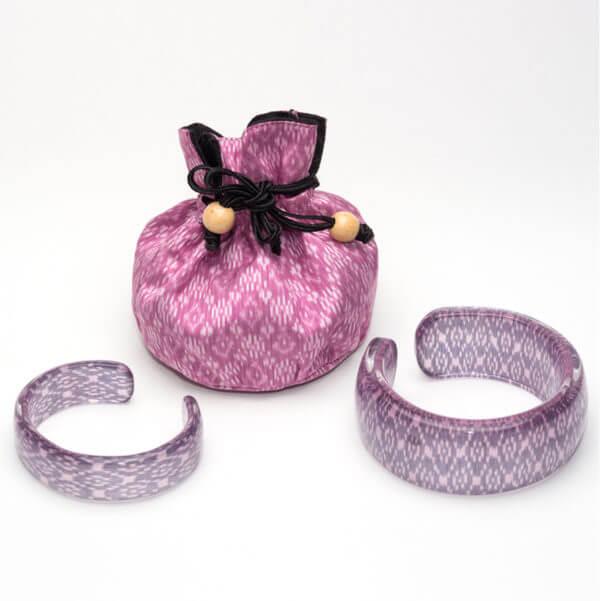 grey and pink bangle WP