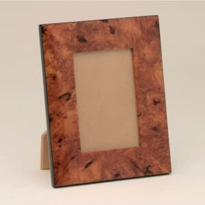 Natural Burl Wood Frames