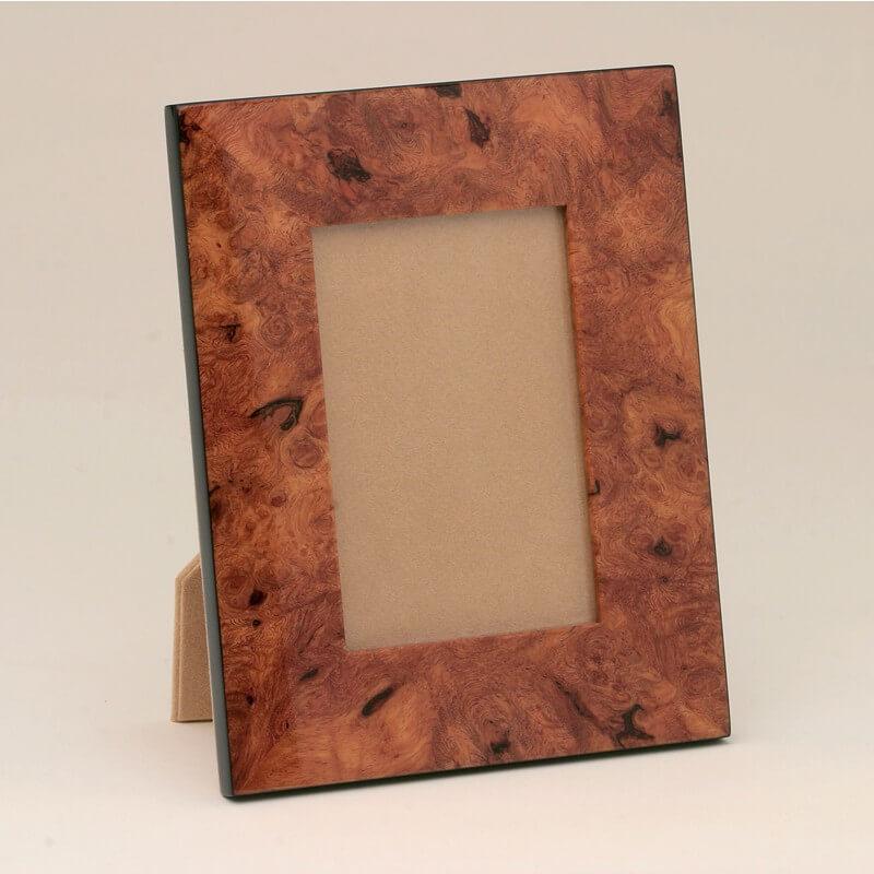 Natural Burl Wood Frames — Kasumisou