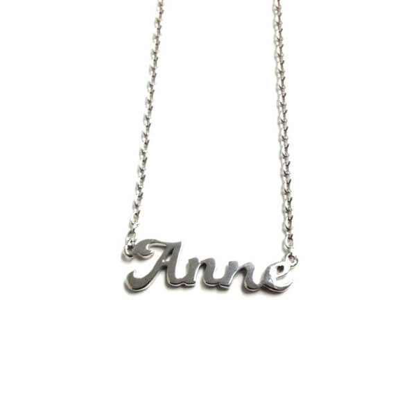 sterling silver signature necklace