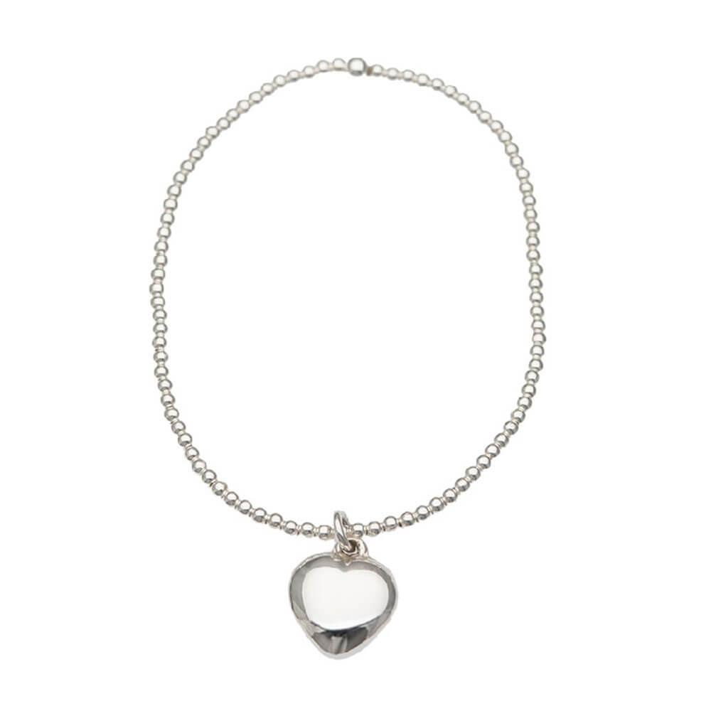 Sterling Silver Sweetheart Bracelet