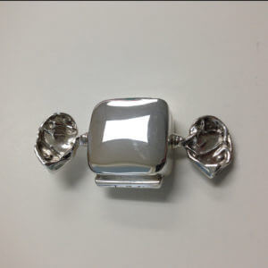 Sterling Silver 'Wrapped Candy' Pillbox