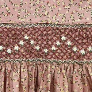 Daisy Garland Floral Print Dress