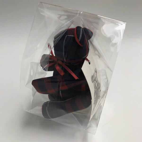 Plaid Lad® in cello packaging with story card.