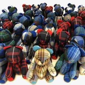 Plaid Lads® School Uniform Bears