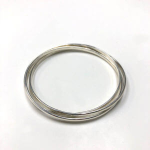 Sterling Silver Bangle Trio