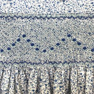 Cotton Lawn Blue Floral Dress
