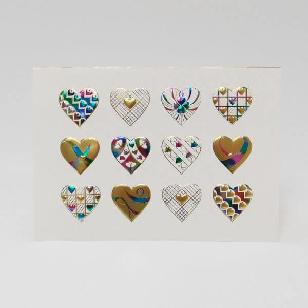 Heart Medley card 1000 pixels