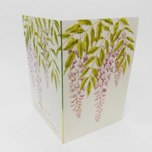 Paula Skene Designs Wisteria condolence card