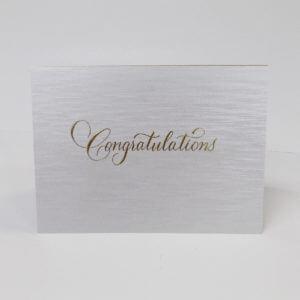 "Paula Skene Designs ""Congratulations"" card"