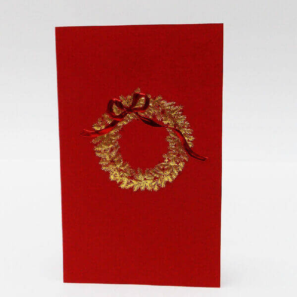 gold wreath on red mini note 1000 pixels