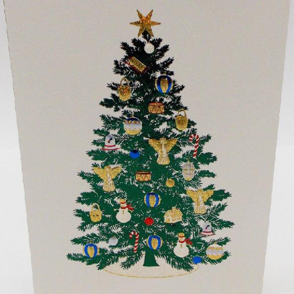 large Christmas tree closeup 1000 pixels