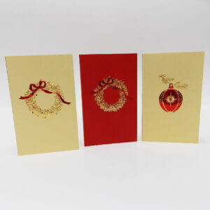 Christmas mini note cards